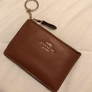 Brown Coach Cardholder